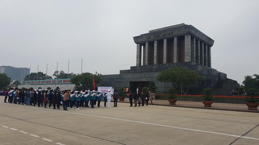 Mausolée d'Ho Chi Minh Hanoi