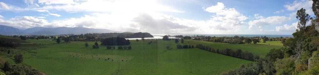 Vue sur la baie depuis the Grove Abel Tasman