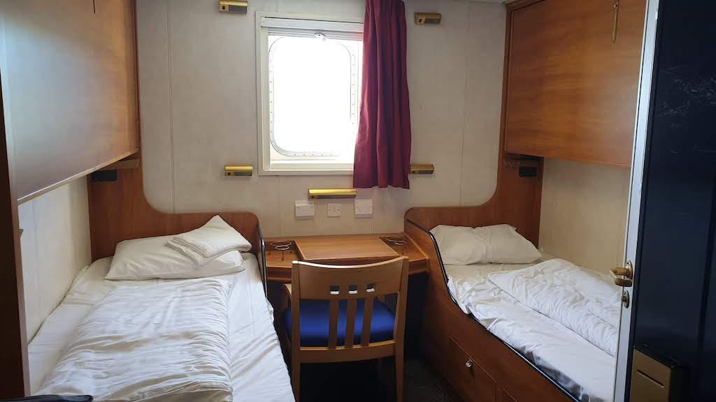 Cabine privée Bluebridge Ferry