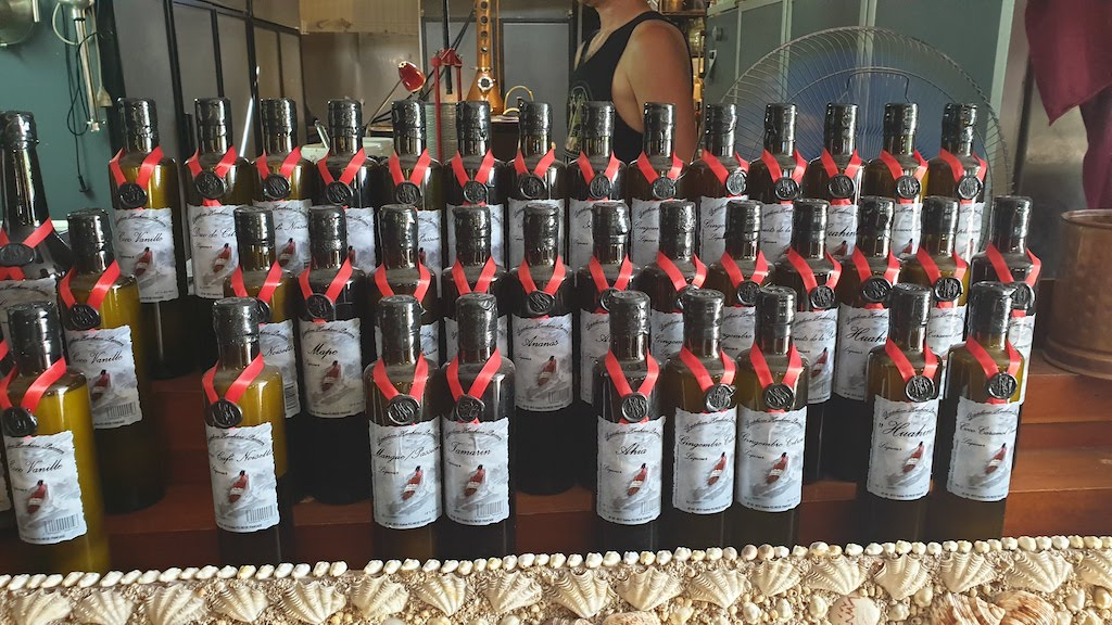 Distillerie Huahine passion Huahine