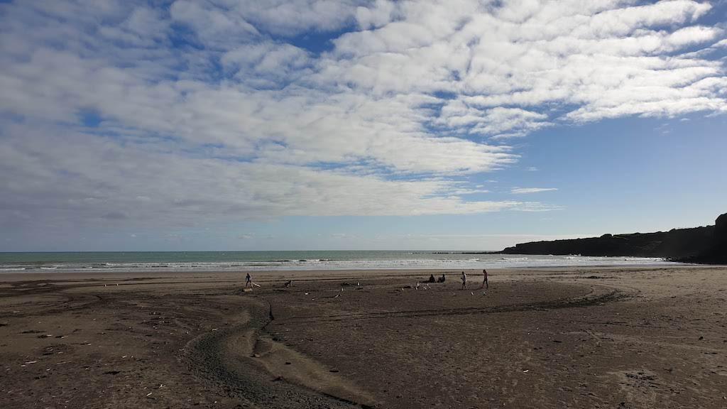 plage d'Opunake Taranaki