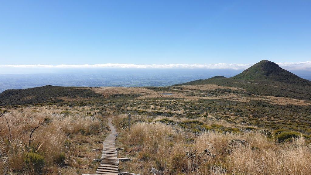 Pouakai track Mont Taranaki