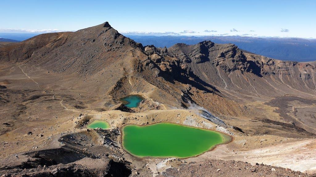 Tongariro Alpine Crossing notre coup de coeur de l'itinéraire nouvelle-zélande