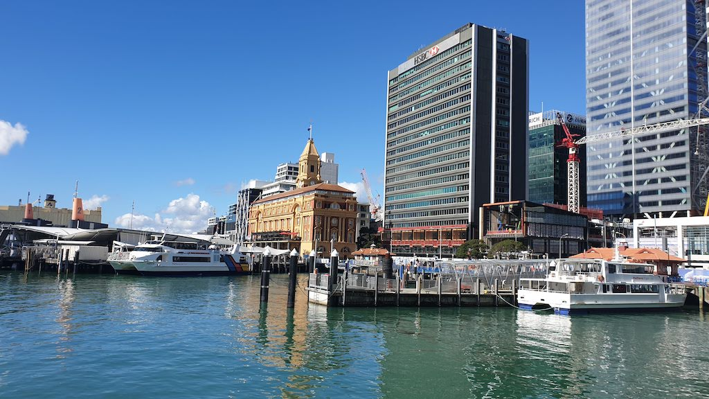 Auckland seafront