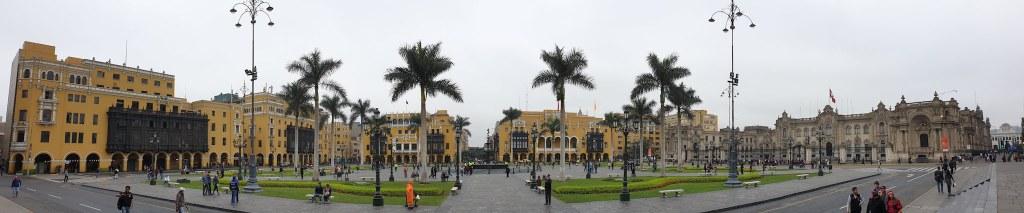 Plaza Major ou Plaza de Armas Lima