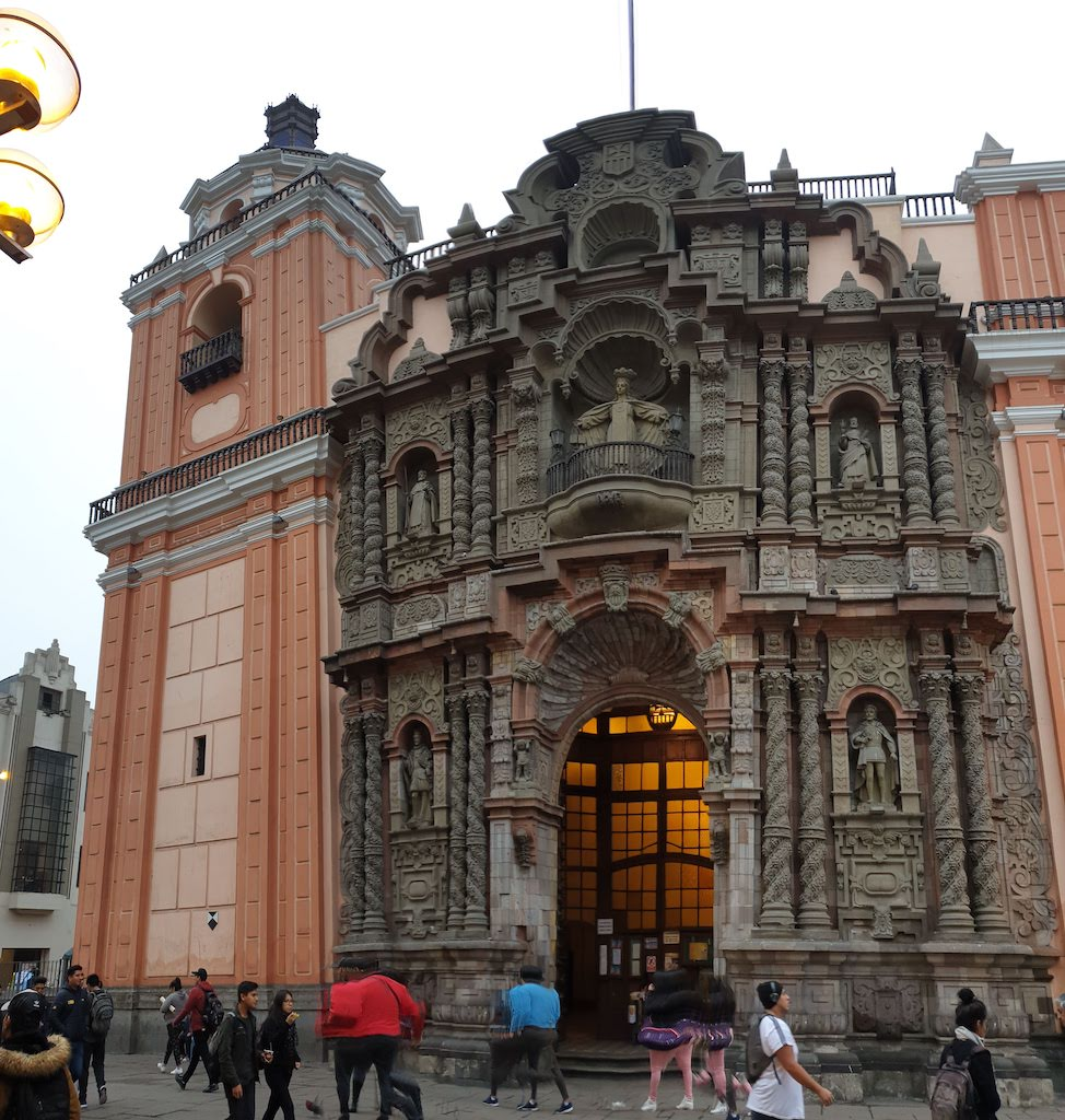 Iglesia de la Merced Lima