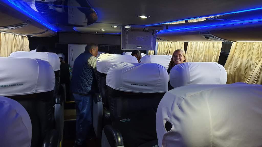 bus pour aller à Huaraz