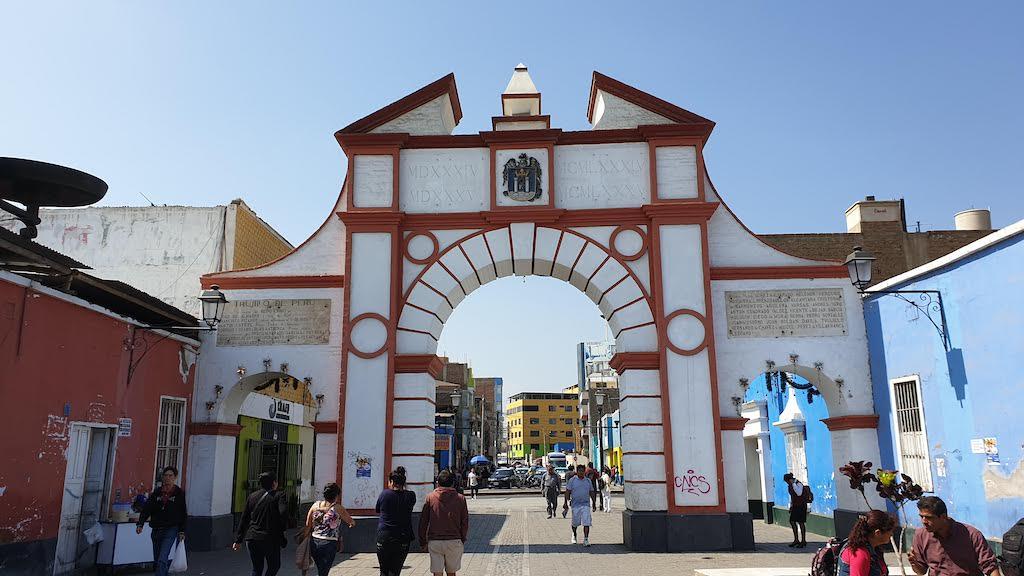 Porte de la ville Trujillo