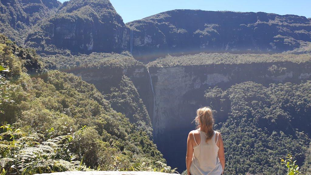 mirador cascade de Gocta accessible depuis chachapoyas
