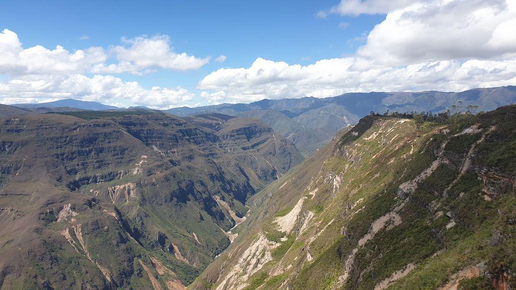 Cañon del Sonche accessible depuis chachapoyas