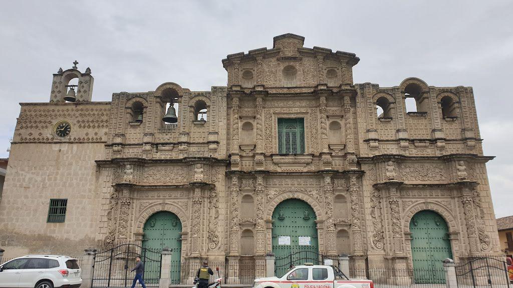 Cathedral Santa Catalina Cajamarca
