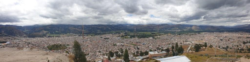 Vue sur Cajamarca