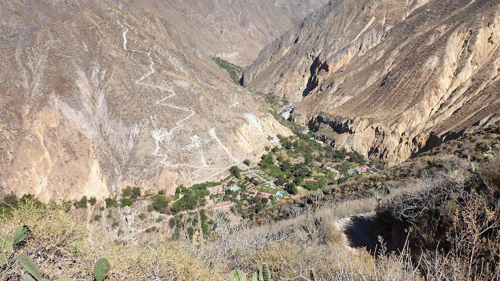 Canyon de Colca Oasis Sangalle