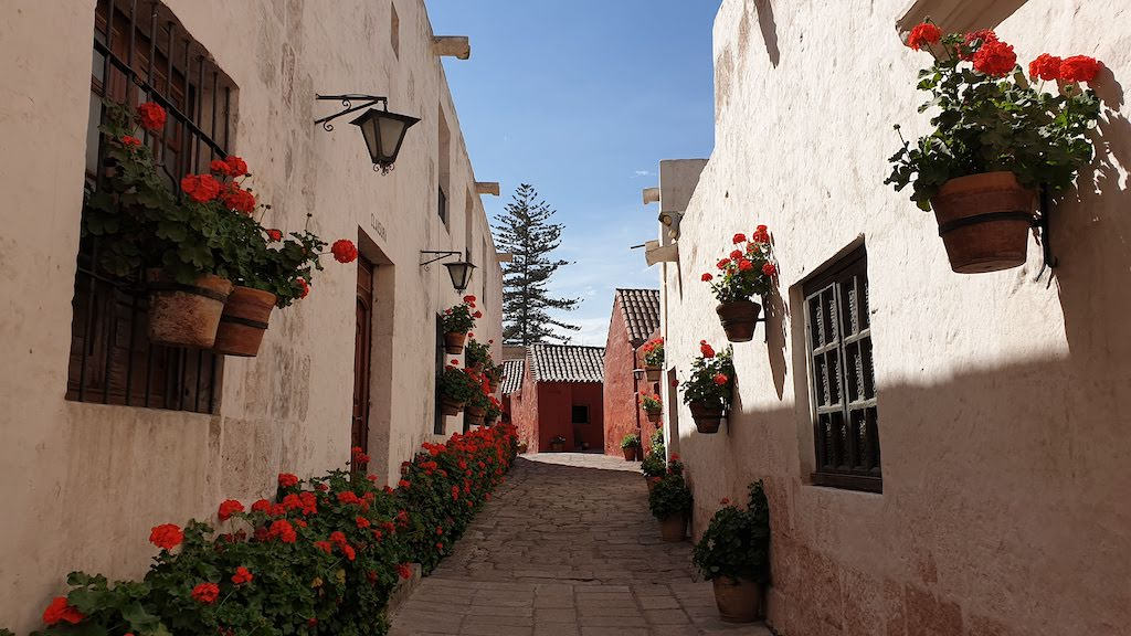 Couvent Santa Catalina ruelle type Andalouse Arequipa