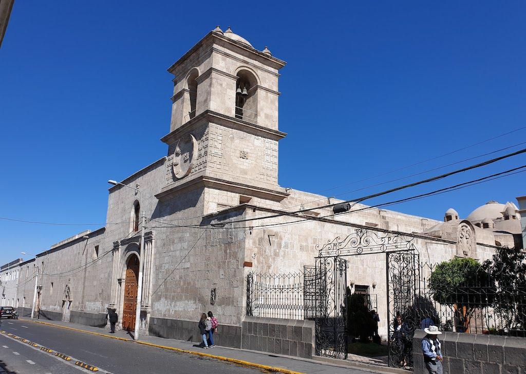Iglesia la Merced Arequipa