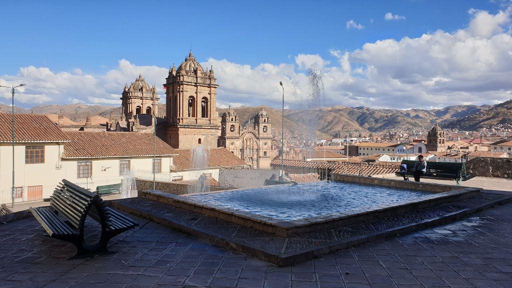Point de vue après le musée Inka Cusco