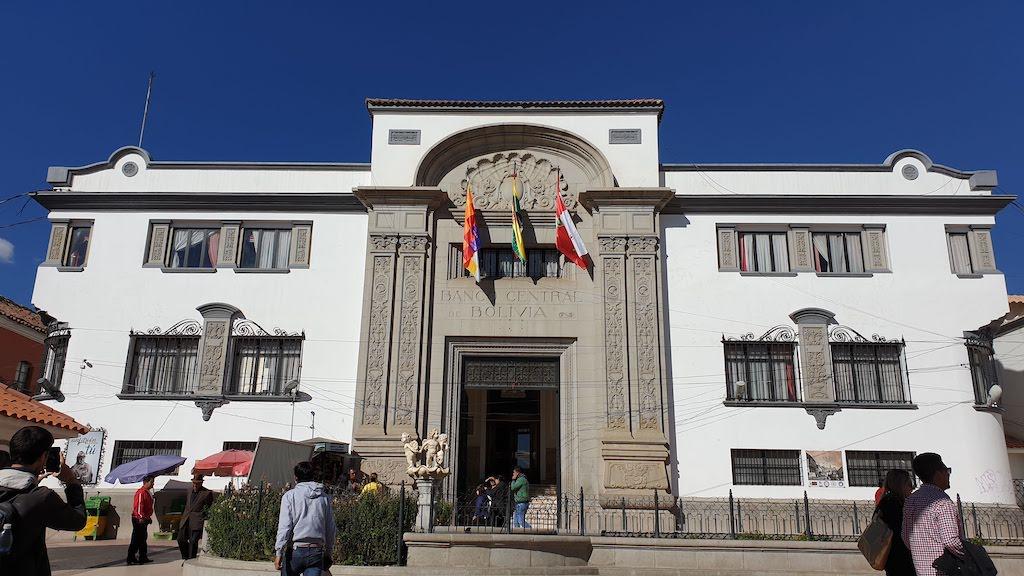 Banque centrale de Bolivie Potosi