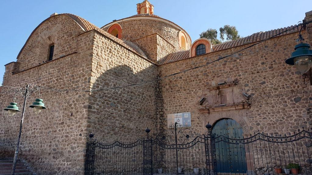Iglesia de San Bernardo Potosi