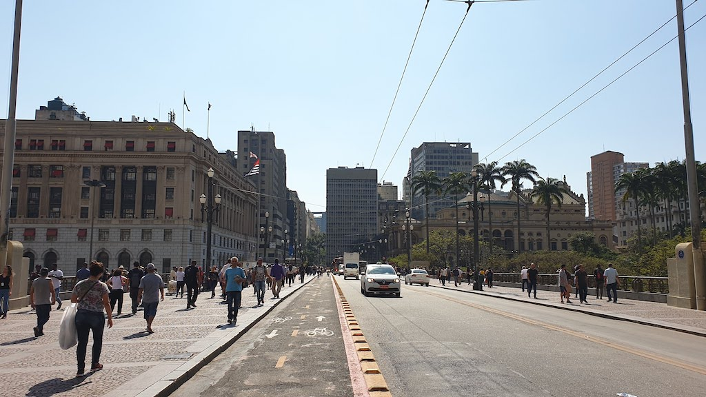 Viaduto do Cha Sao Paulo