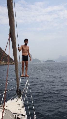 Voilier baie de Rio