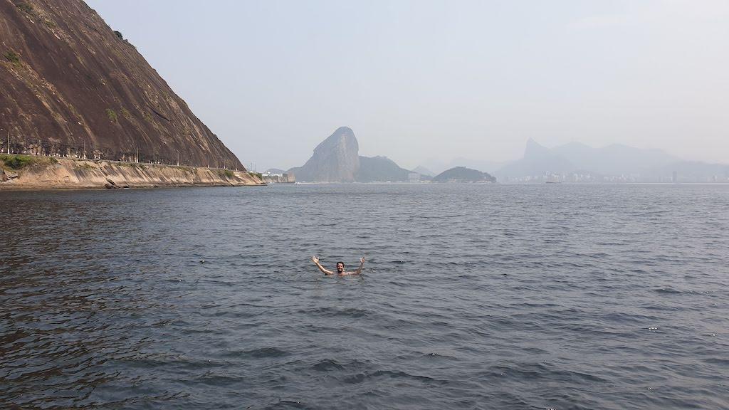 baignade à Rio
