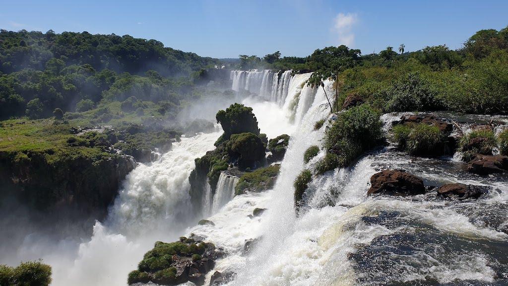 Paseo superior Chutes Iguazu