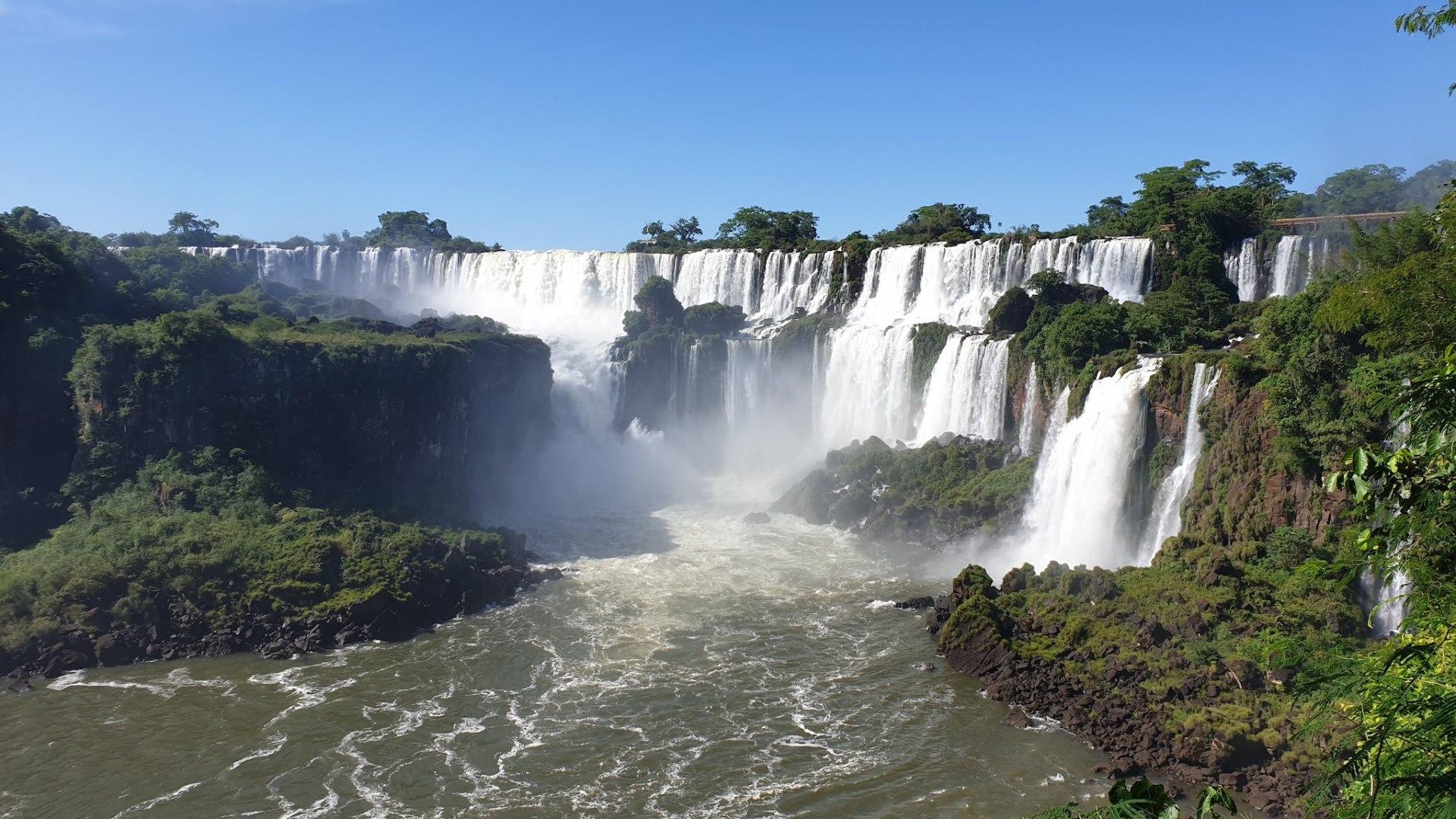 Puerto Iguazu chutes Argentine
