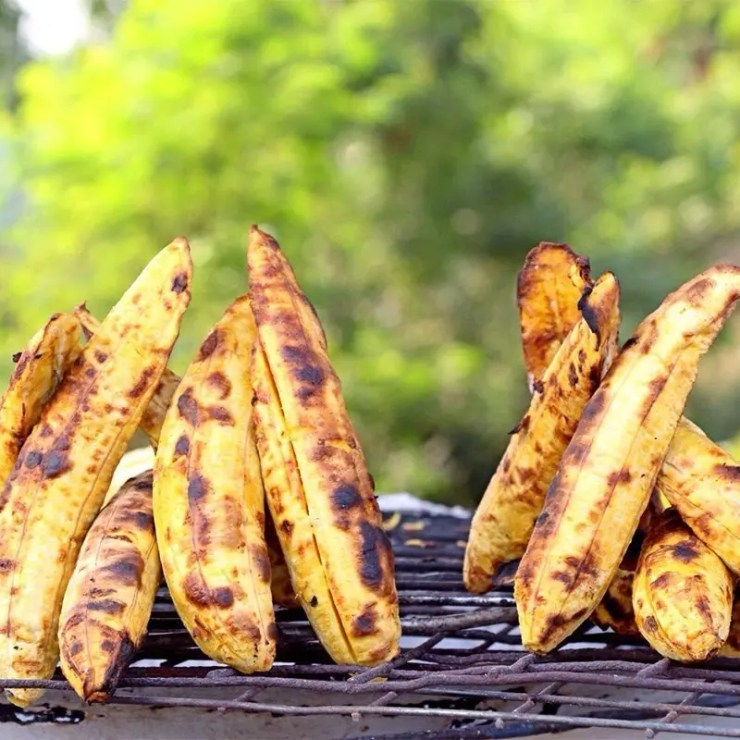 Roasted Plantain - Ugandan snacks you must try