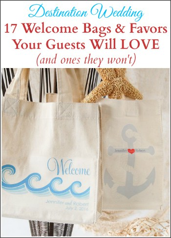 10 Welcome Bag Ideas Your Guests Will Love