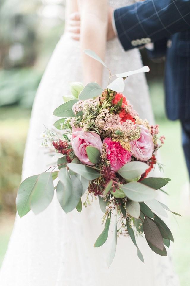 Petit bouquet de mariage
