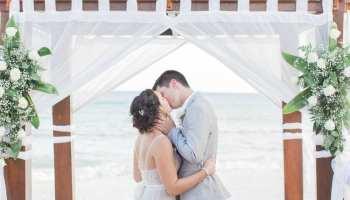A Beautiful Destination Wedding At The Grand Sunset Princess