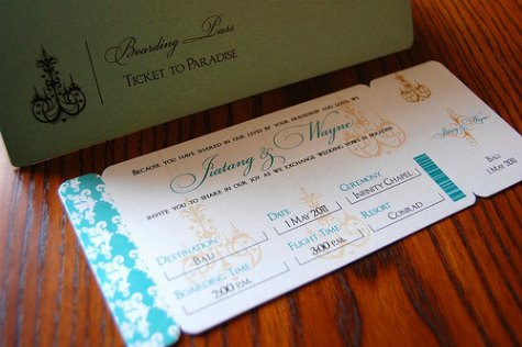 Destination Wedding Etiquette Invitations