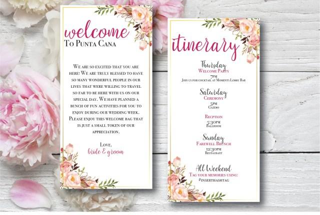 brochure d'idées de mariage à destination devant