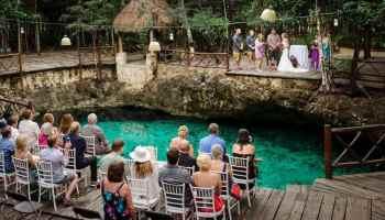Unique Destination Wedding In Tulum Cenote