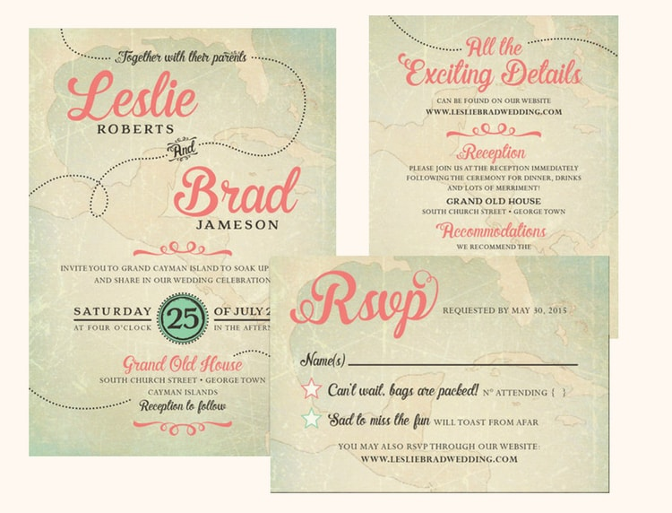 Destination Wedding Invitation Wording Etiquette And Exles