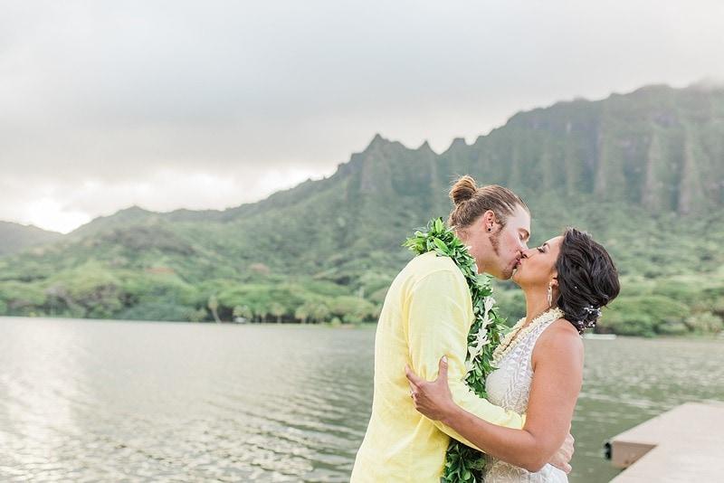 destination wedding private oahu beach 2015