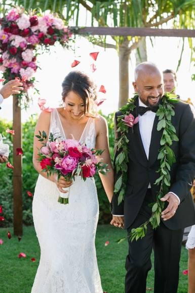 photos de mariage oahu quatre saisons 0060