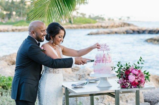 photos de mariage oahu quatre saisons 0070