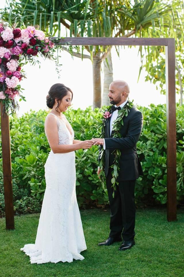 quatre saisons oahu photos de mariage 0101