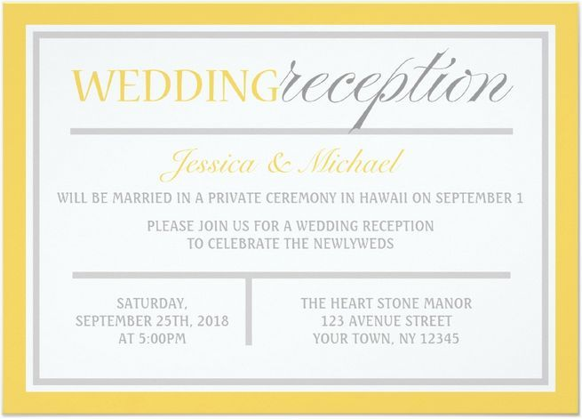 Wedding Reception Invitations Is Winsome Ideas Which Can Be Applied Into Your Invitation 16