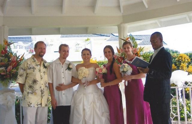 Mais Oui Gazebo Wedding