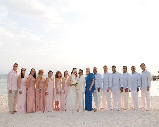 Wedding Party Isla Mujeres Palace