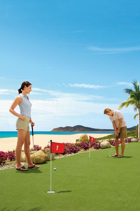 Onsite Mini Golf Course