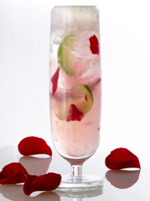 Coming Up Roses Cocktail, from MarieClaire.com