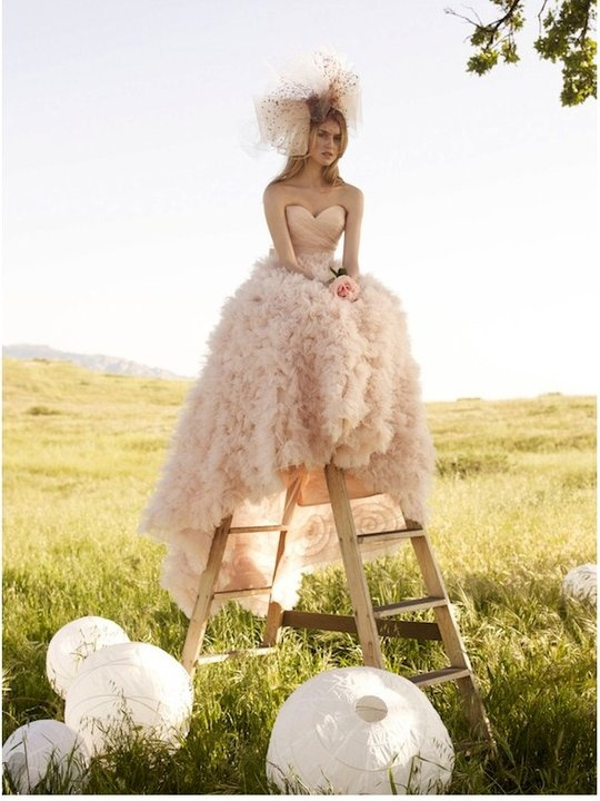 Blush Dress for Destination Weddings