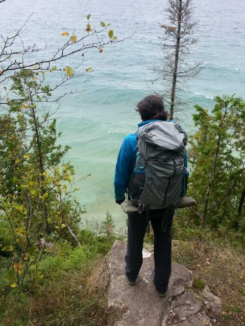 Backpacking Rock Island Wisconsin | Destination: zero bars