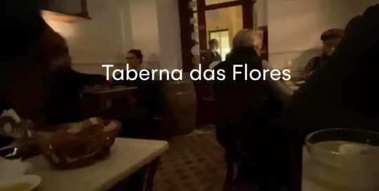 Lisbon – Taberna da Rua das Flores