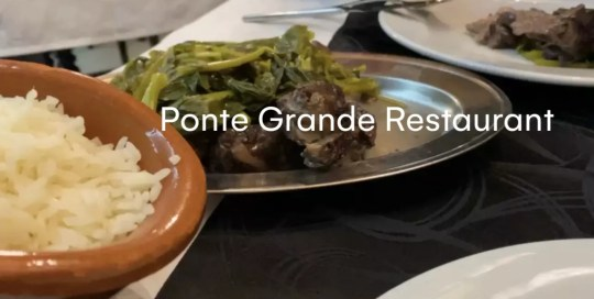 Douro Valley – Ponte Grande Restaurant