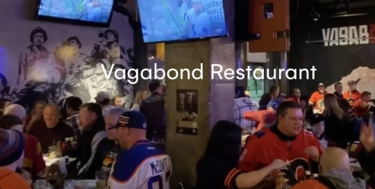 Calgary – Vagabond Restaurant
