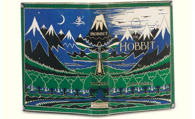 Primera edición de 'El Hobbit' de JRR Tolkien publicado en el año 1937